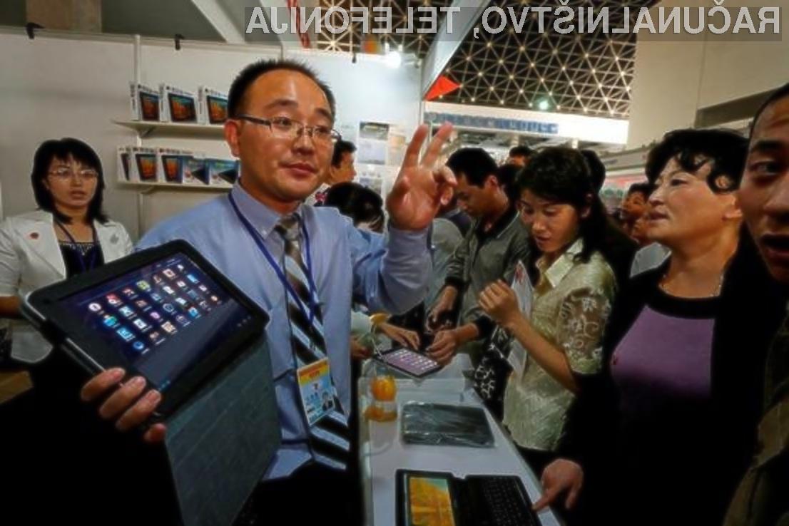 Prvi severnokorejski tablični računalnik lahko v prosti prodaji kupijo tudi turisti!