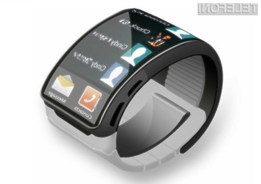 Pametna ročna ura Samsung Galaxy Gear bo zagotovo šla v prodajo kot za stavo!
