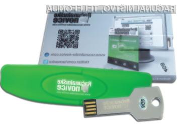 Podarjamo kar 10 različnih USB ključev.