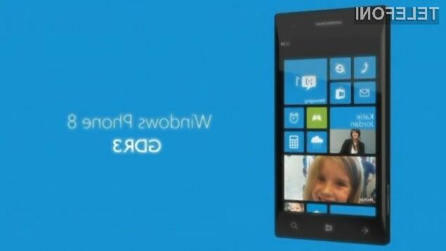Mobilni operacijski sistem Windows Phone 8 GDR3 bo povečal uporabnost mobilnikov Windows Phone.