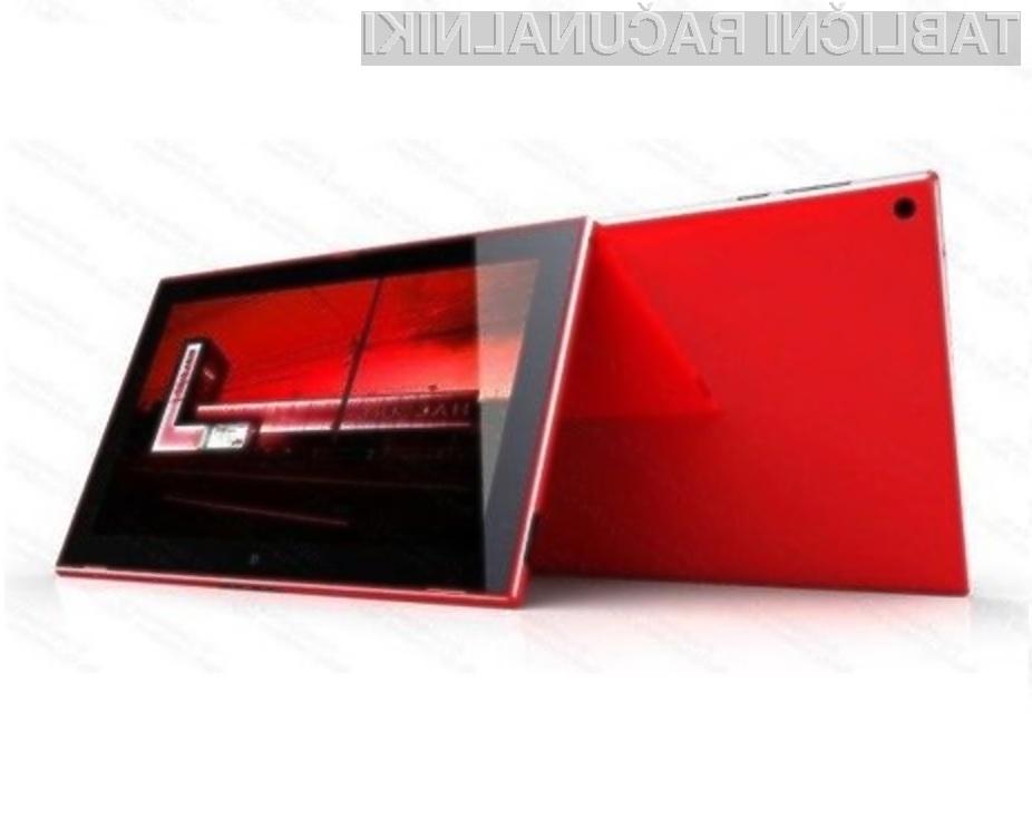 Prvi tablični računalnik Nokia Lumia bo opremljen z mobilnim operacijskim sistemom Windows RT 8.1.