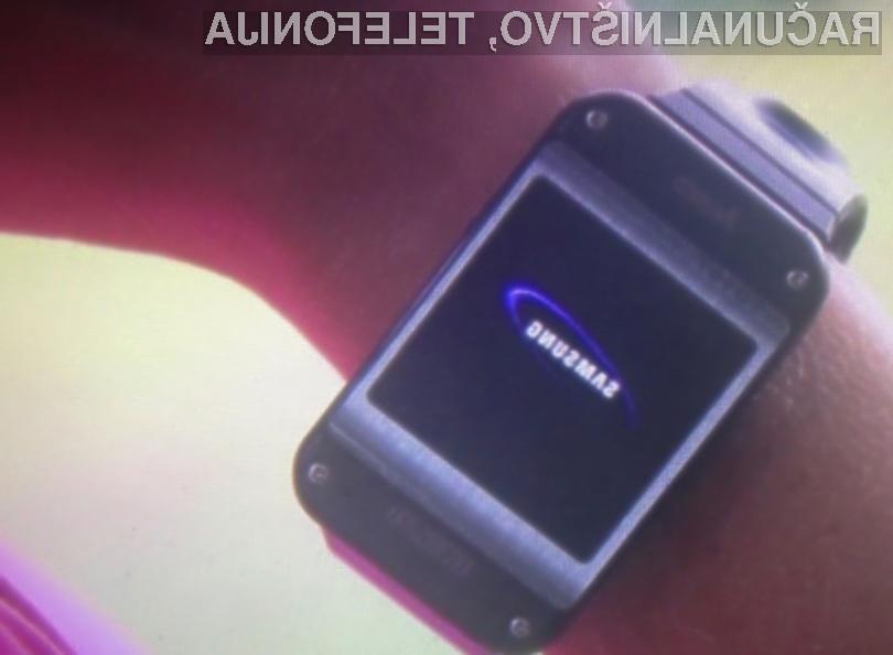 Pametna ročna ura Samsung Galaxy Gear naj bi bila zlahka kos tudi najzahtevnejšim opravilom!