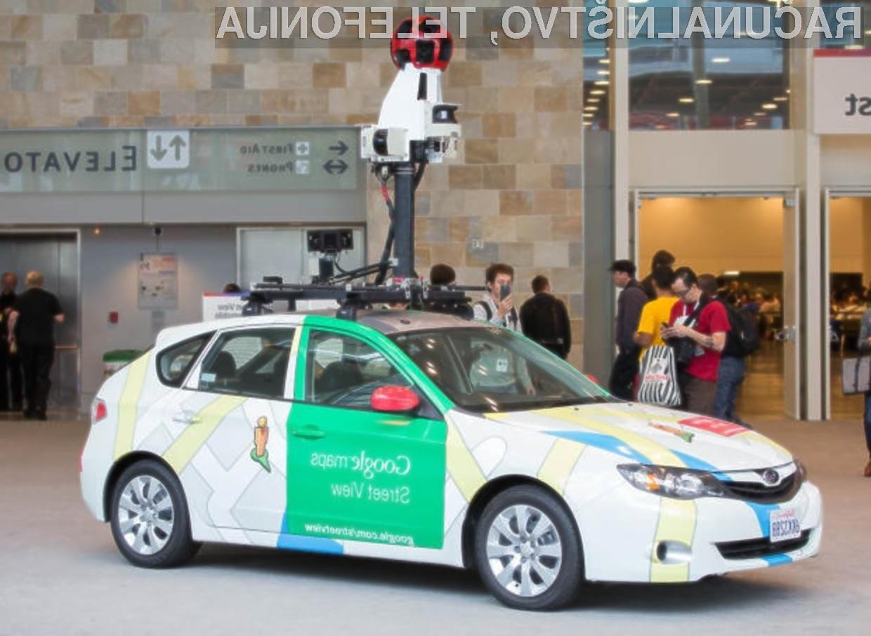 Vozilo, s katerim Google fotografira ulice, je bilo v Indoneziji udeleženo v kar treh zaporednih nesrečah.
