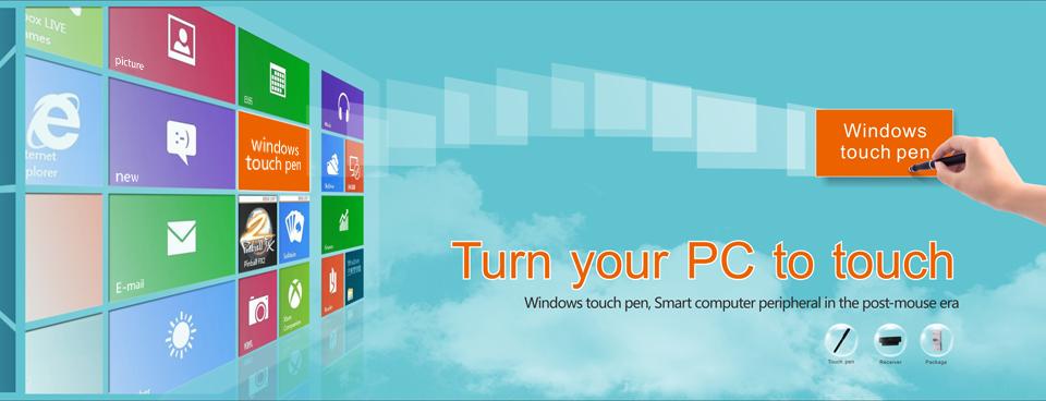 S pisalom Yifang Digital lahko vsak zaslon spremenite v zaslon na dotik.