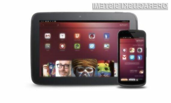 Operacijski sistem Ubuntu Touch bo mobilne naprave Android prelevil v zmogljive prenosne računalnike!