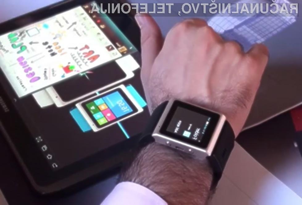 Pametna ročna ura A.I Watch bi zlahka nadomestila pametni mobilni telefon.