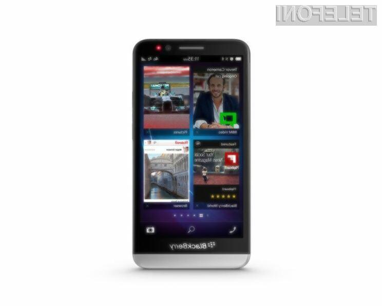 Podjetje BlackBerry Limited računa na to, da ga bo pametni mobilni telefon BlackBerry Z30 izvlekel iz težav!