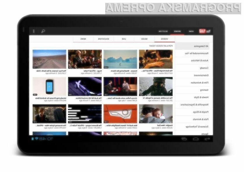 Možnost predvajanja YouTube vsebin na mobilnih napravah brez spletne povezave bodo znali ceniti predvsem tisti, ki so veliko na poti.