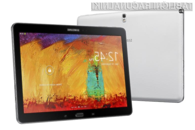 Tablični računalnik Samsung Galaxy Note 10.1 2014 Edition je zlahka kos tudi najzahtevnejšim opravilom!
