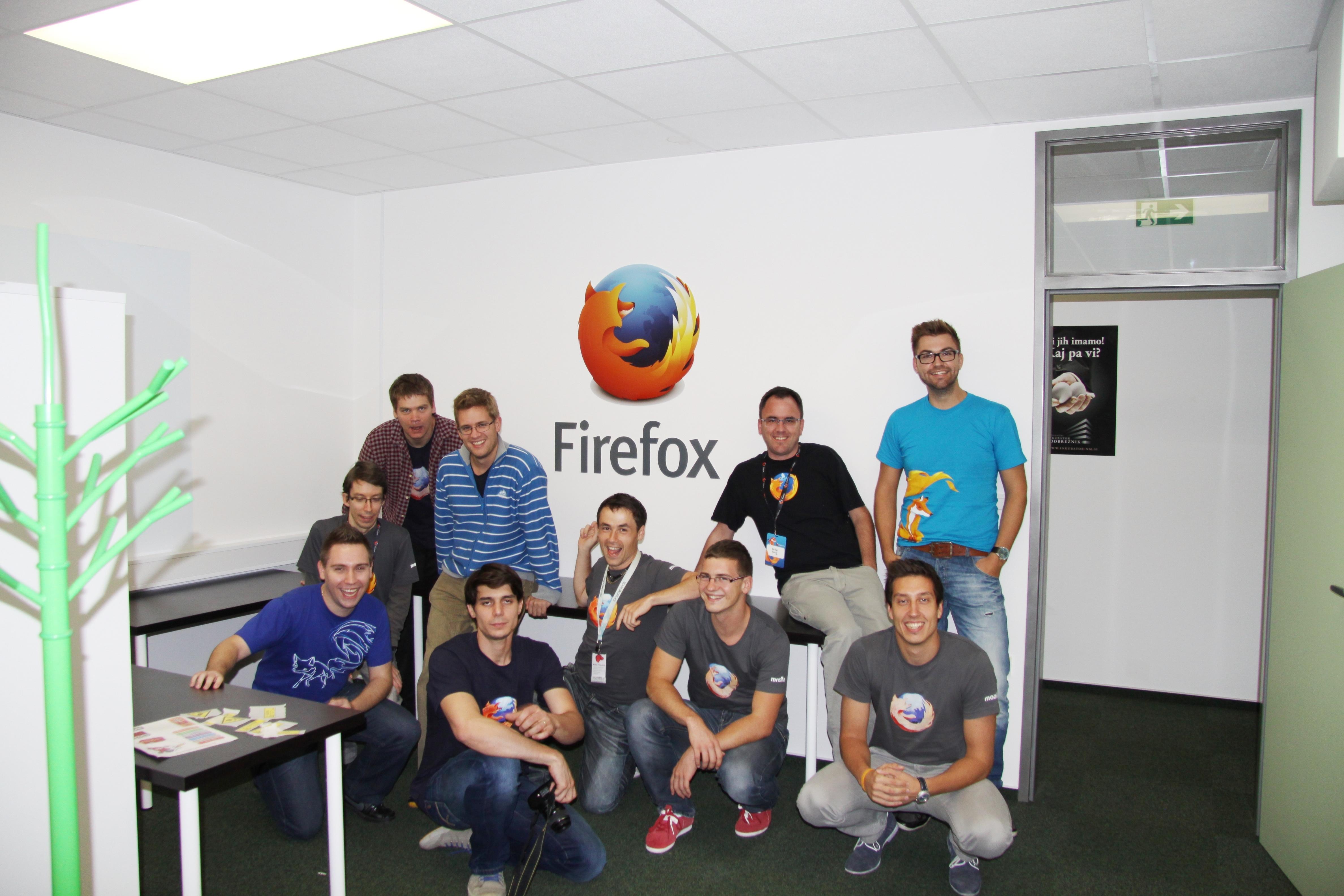 Mozilla je odprla prostore tudi v Sloveniji