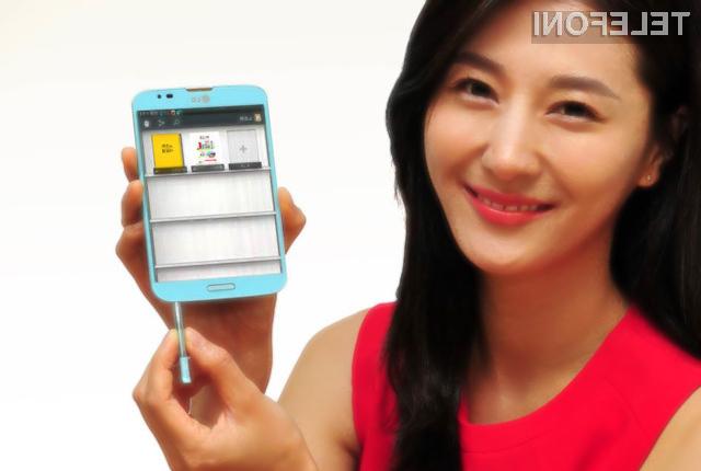 Pametni mobilni telefon LG Vu 3 navdušuje predvsem na račun nekoliko nenavadnega zaslona.