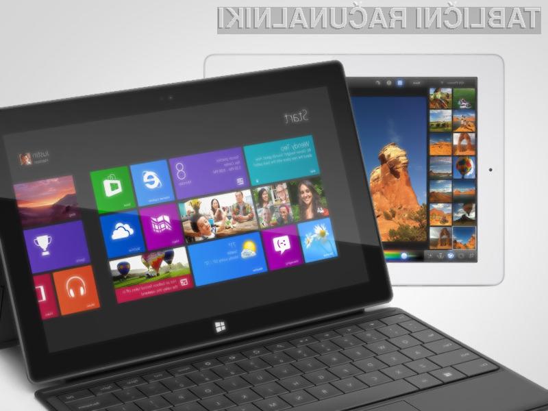 Microsoftova nenavadna poteza je onkraj luže močno pospešila prodajo tabličnih račznalnikov Surface.