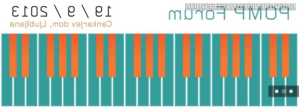 RN VIP člani lahko izkoristite 60 % popusta za POMP Forum 2013