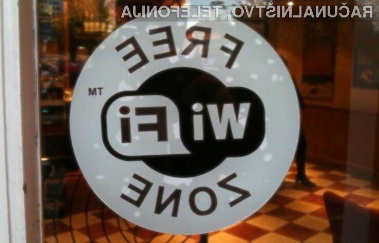 Brezžične dostopne točke do svetovnega spleta bodo razveselile marsikaterega uporabnika mobilnih naprav.