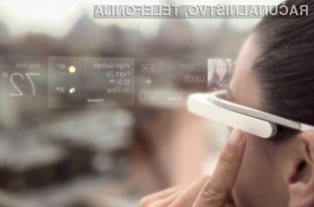 Večpredstavnostna očala Google Glass naj bi bila kmalu dostopna tudi navadnim smrtnikom!
