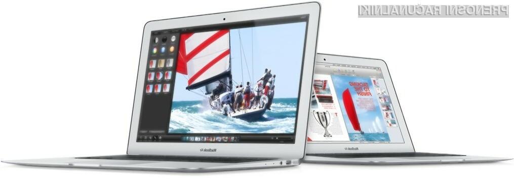 Podjetje naj bi prenosnike MacBook Air z zasloni Retina ponudilo v prodajo še pred pričetkom pomladi.