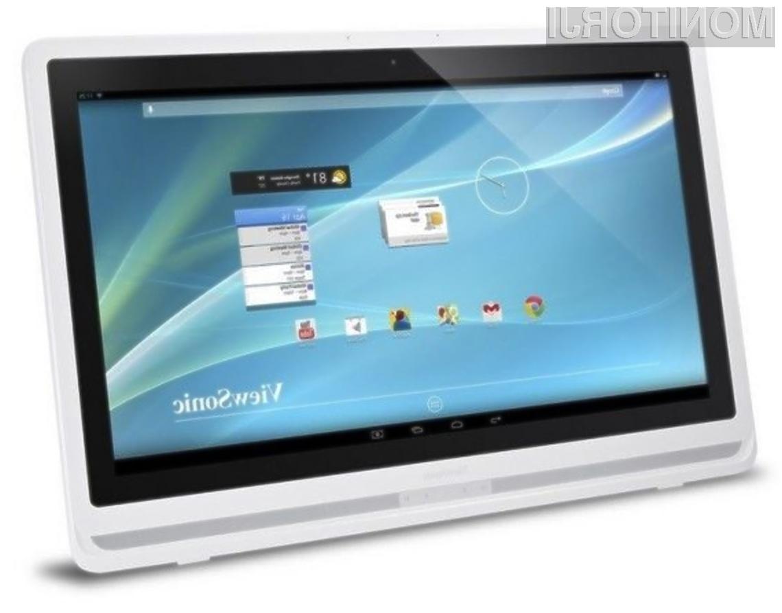 Pametni računalniški zaslon ViewSonic VSD241 bo zlahka prepričal tudi najzahtevnejše!