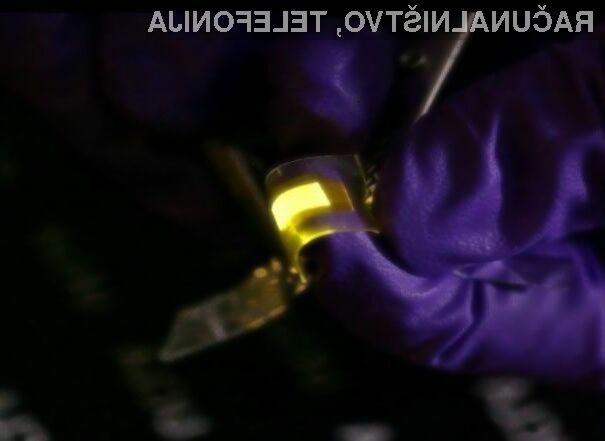 Upogljivi in raztegljivi zasloni OLED bodo omogočali izdelavo oblikovno nadvse zanimivih mobilnih naprav!