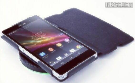Novi pametni mobilni telefon Sony bomo lahko brezžično napolnili v relativno kratkem času!
