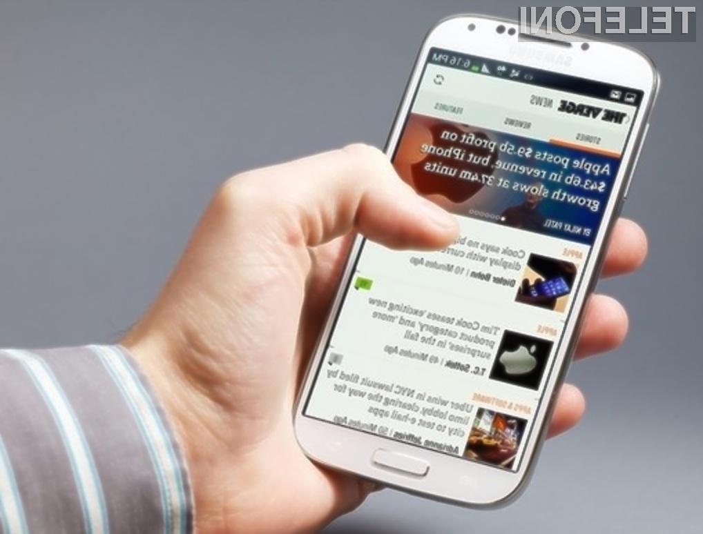Uradni Android 4.3 za Samsung Galaxy S4 naj bi bil na voljo za prenos že v drugi polovici novembra!