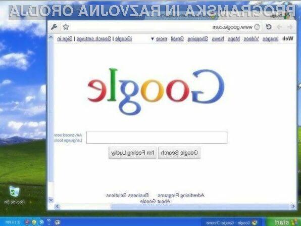 Uporabniki Windowsa XP bodo nove različice brskalnika Google Chrome prejemali vsaj do aprila 2015.