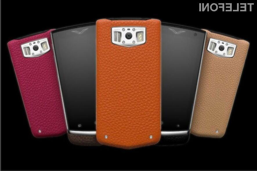 Vertu Constellation je prevzel lovoriko najdražjega serijskega pametnega mobilnega telefona na svetu.