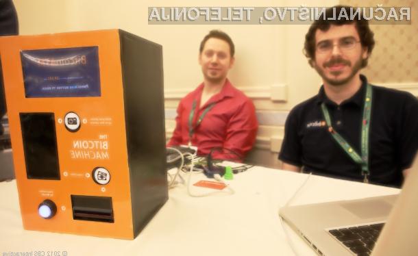 Bankomat podjetja Bitcoiniacs bo uporabnikom omogočal menjavo navidezne valute Bitcoin v »realen« denar in obratno.