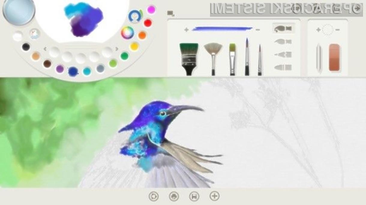 Grafični program Fresh Paint vas bo takoj prevzel!