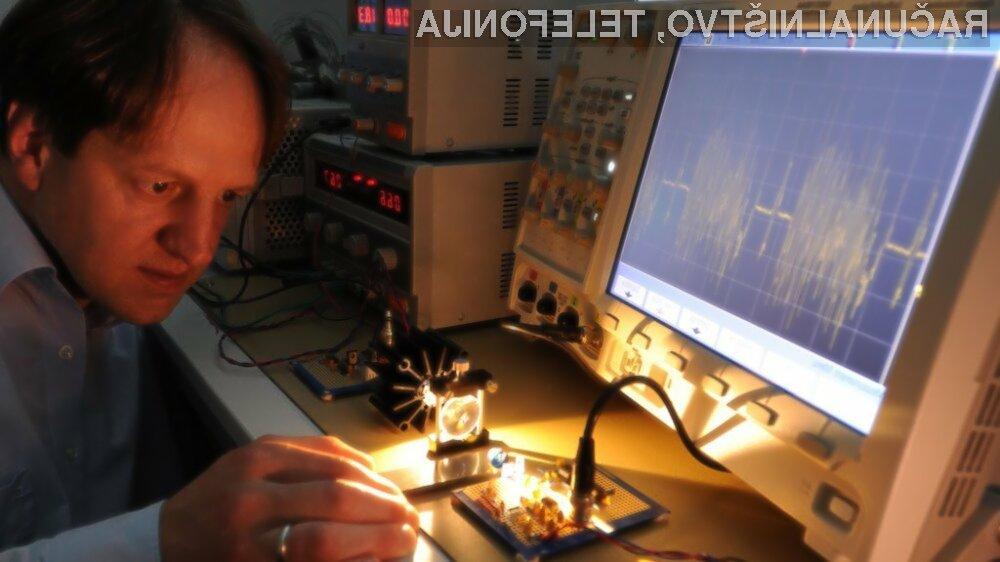 Računalniška omrežja, grajena na osnovi žarnic LED, naj bi kmalu postala del naše vsakdanjosti!