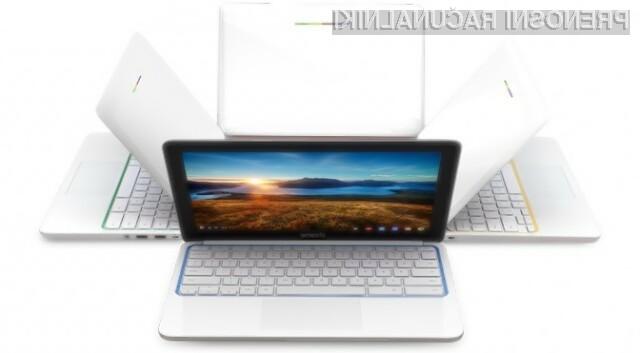 Miniaturni prenosni računalnik HP Chromebook 11 za malo denarja ponuja veliko!