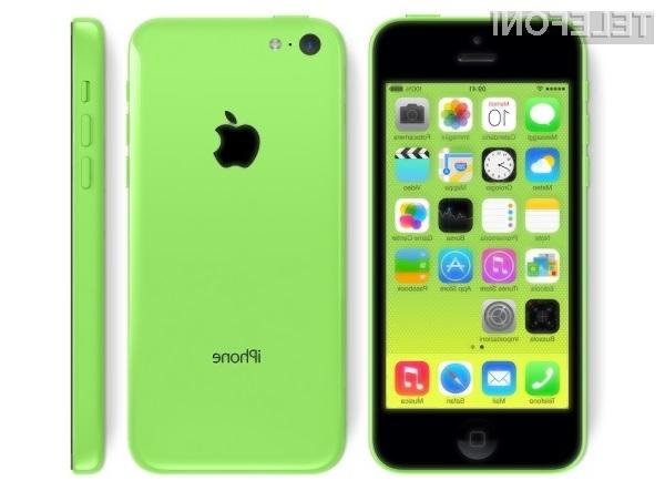 Po pametnem mobilnem telefonu iPhone 5C posegajo le še tisti, ki obožujejo žive barve njegovega plastičnega ohišja.