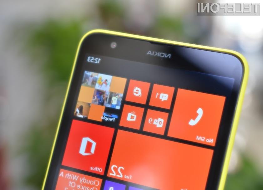 Mobilnik Nokia Lumia 1320 vas bo zlahka prevzel!