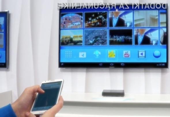 Samsung HomeSync je namenjen shranjevanju in takojšnjemu deljenju večpredstavnostnih vsebin prek zasebnega oblaka.