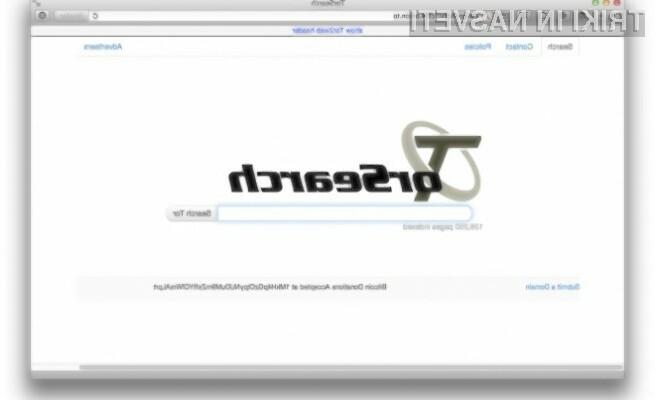 Z uporabo spletnega iskalnika TorSearch vaša zasebnost ne bo ogrožena!