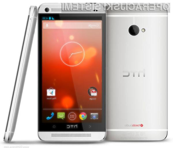 Pametni mobilni telefon HTC One bo z nadgradnjo na Android 4.4 KitKat postal še uporabnejši!