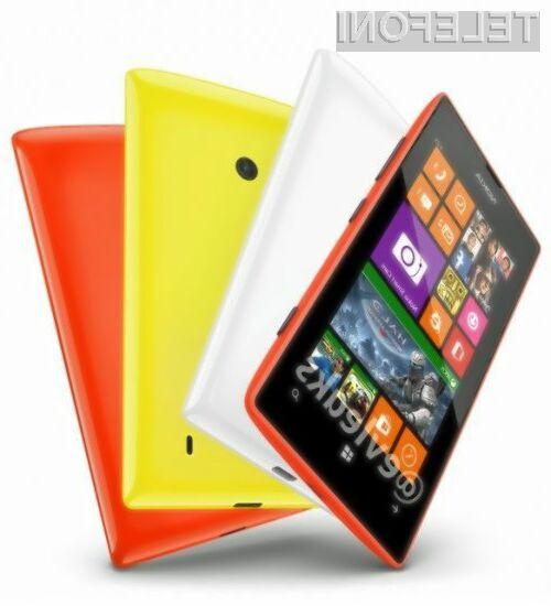 Za pametni mobilni telefon Nokia Lumia 525 bo pri nas potrebno odšteti le okoli evrskega stotaka!