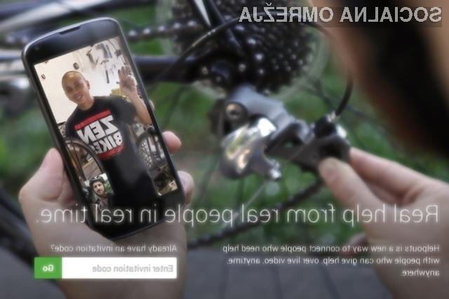 V Helpouts lahko za pomoč vprašate strokovnjaka v živo prek videa.