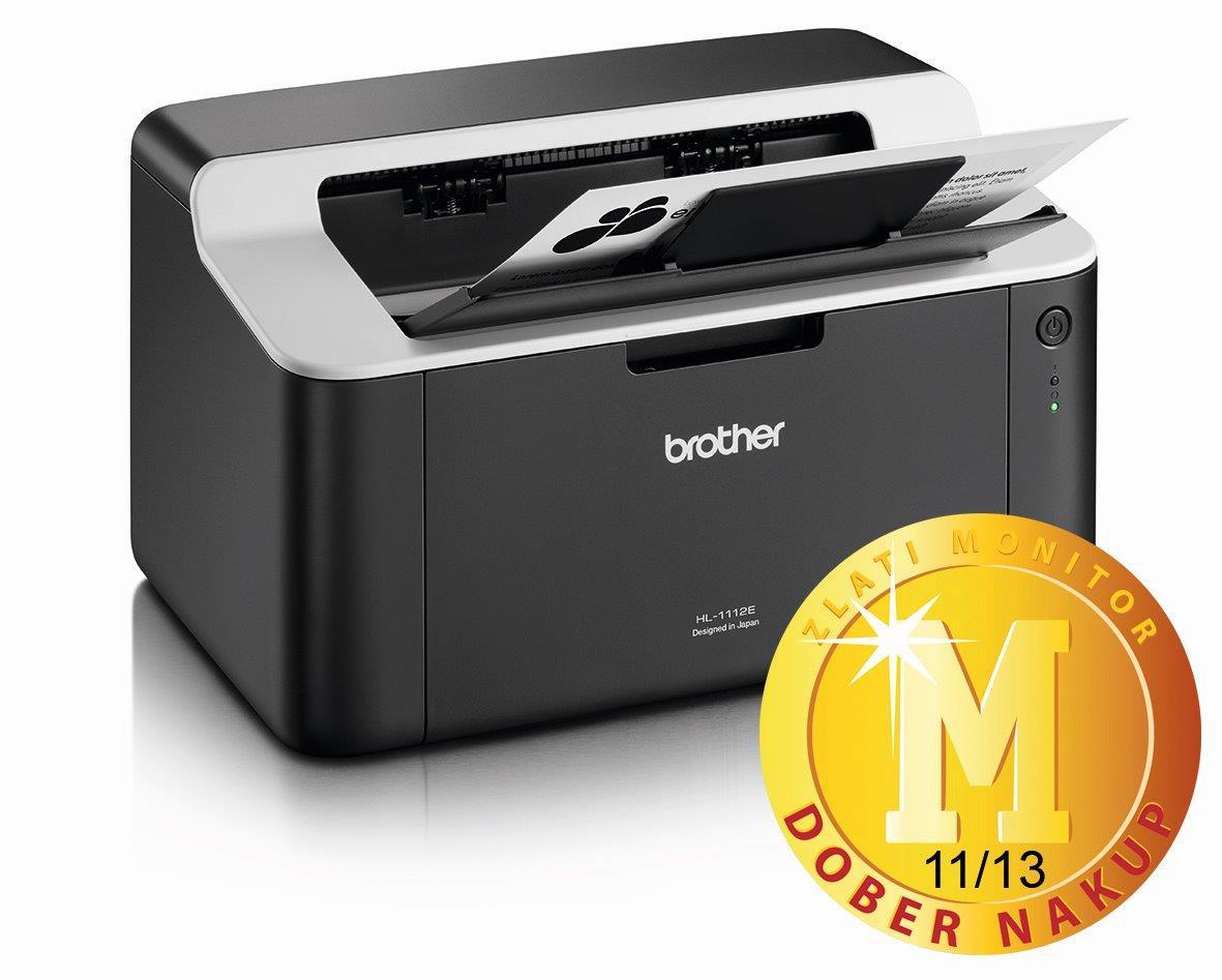 Odličnost laserskega tiskalnika Brother HL-1112E
