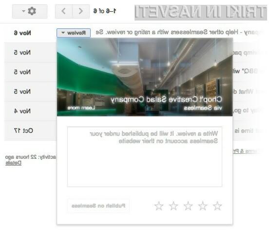 Nove možnosti Gmaila poenostavljajo in pohitrijo njegovo uporabo!