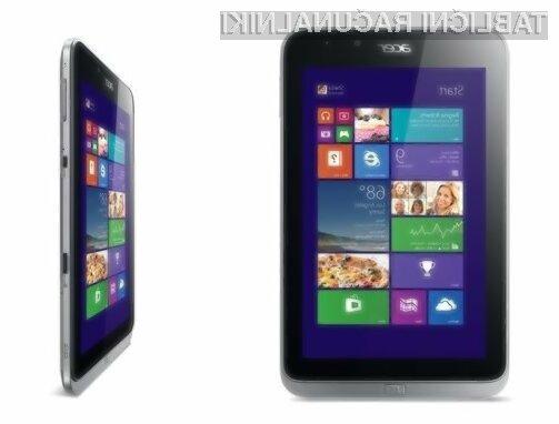 Tržno zanimiva tablica Acer Iconia W4 nas ne bo razočarala, saj je na vgrajen pomnilniku kapacitete do 64 gigabajtov prednameščen operacijski sistem Windows 8.1. Zaradi zmogljive strojne opreme je novost kot nalašč za delo, predvajanje večpredstavnostnih