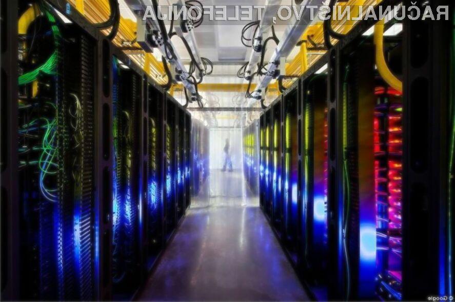 Google bi z lastnimi procesorji lahko povečal tako zmogljivost kot energijsko varčnost strežnikov.