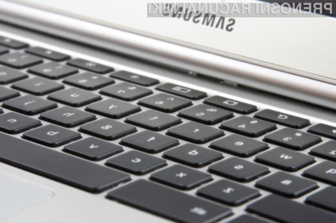 Novi Samsung Chromebook bo kot nalašč tako za namene študija kot poslovna okolja!