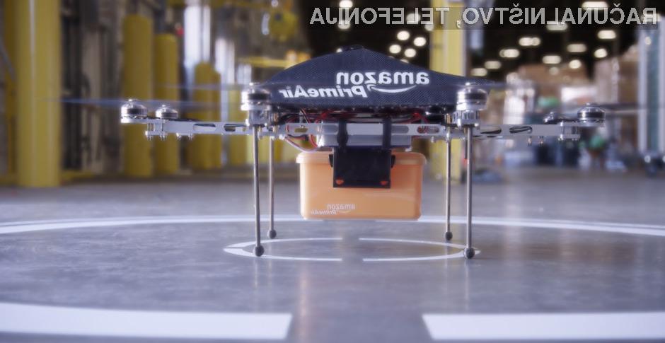 Podjetje Amazon bo leteče robote za dostavo paketov lahko pričelo uporabljati šele leta 2016 ali celo kasneje.