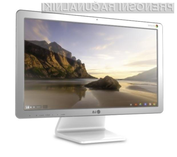 Osebni računalnik vse-v-enem LG Chromebase je primeren tako za opravljanje enostavnejših opravil kot predvajanje večpredstavnostnih vsebin.