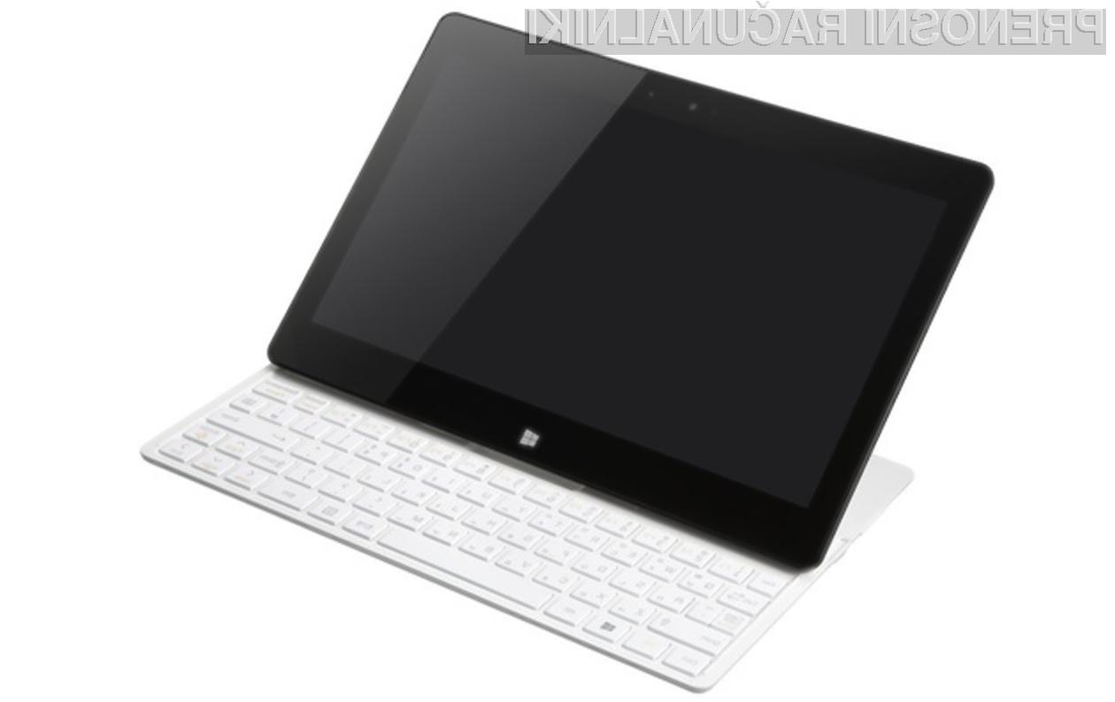 LG Tab-Book 2 se bo odlično znašel tako v vlogi prenosnika kot tabličnega računalnika!