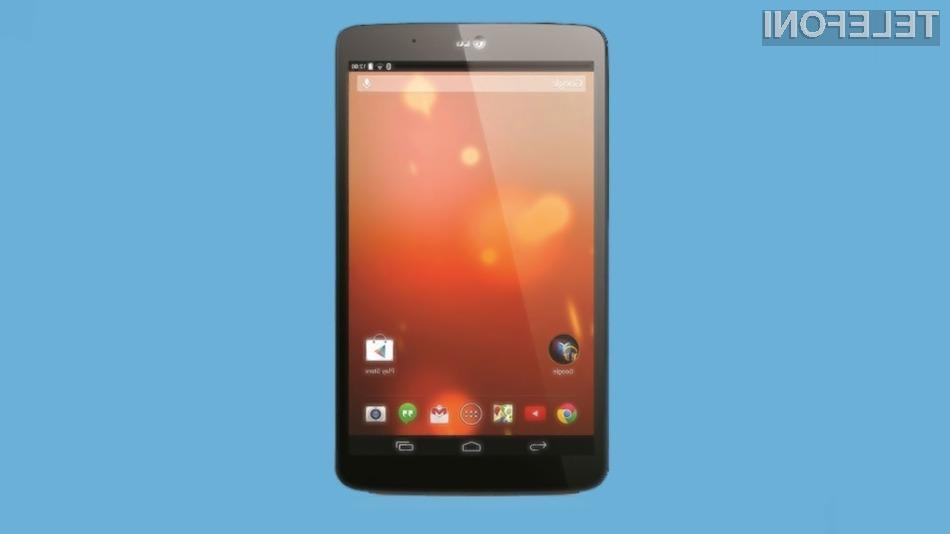 Novi LG G Pad 8.3 ponuja uporabniško izkušnjo tablic Google Nexus.