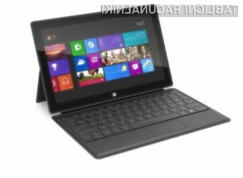 Microsoft naj bi manjši tablični računalnik Surface ponudil v prodajo še pred pomladjo.