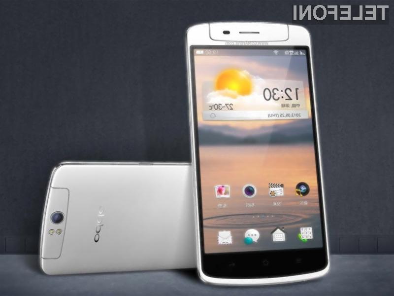 Pametni mobilni telefon Oppo N1 je pisan na kožo ljubiteljem digitalne fotografije.