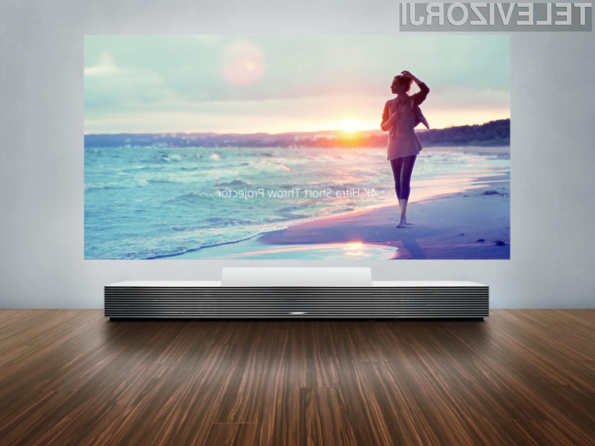 Izjemno kakovosten projektor Sony Life Space UX navdušuje v vseh pogledih!