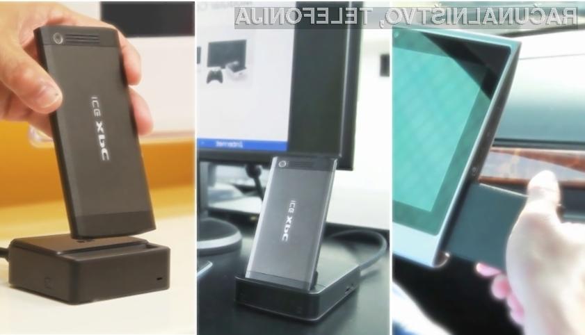 Tablica, prenosnik in namizni računalnik, ki ga pospravite v žep